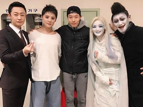[OTHER INSTAGRAM] 170115 C-JeS Instagram Update: Ryu Jun Yeol met 'Death Note' team