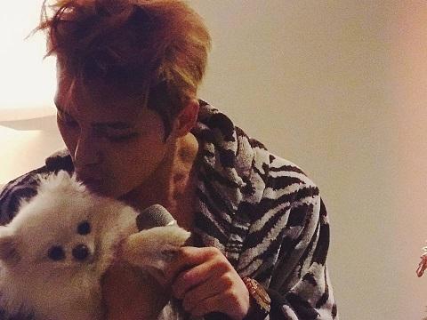 [INSTAGRAM] 170116 Kim Jaejoong Instagram Update: With Momo