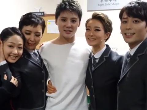 [OTHER INSTAGRAM] 170115 Kim Chan Lye Instagram Update – Junsu spotted in more behind photos of 'Death Note' teamwork