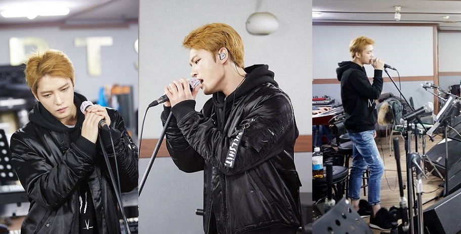 """[PICS/SNS] 170117 Rehearsal Photos of 2017 Kim Jaejoong's Asia Tour Concert in Seoul """"The REBIRTH of J"""""""