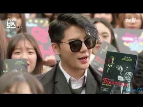 [VIDEO] 170116 Kim Junsu's cameo in drama 'Introverted Boss' – TOP STAR