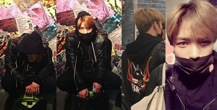 "[PICS + TRANS] 170329 Kim Jaejoong at ""Punk in Britain & Our Nation Exhibition"""