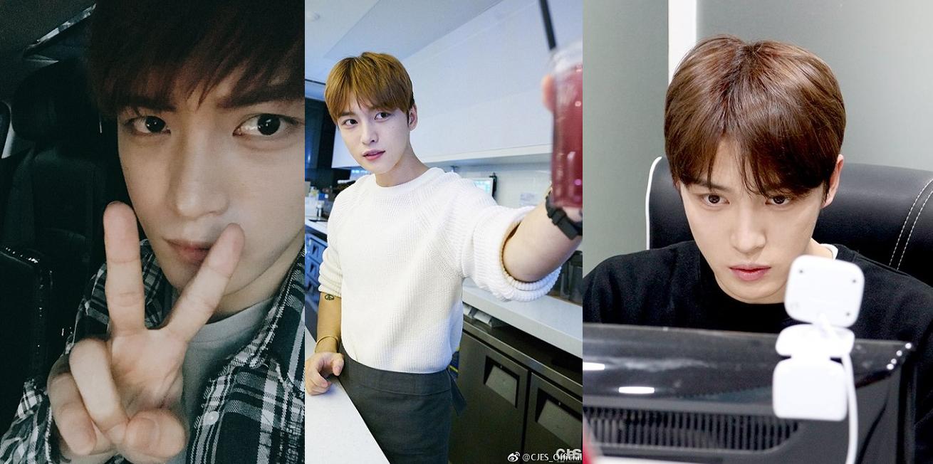 [PICS/SNS] 170523 CJeS Naver: Behind The Scenes of Kim Jaejoong's V-Lives