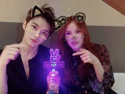 [OTHER INSTAGRAM] 170525 C-JeS Instagram Update – Jaejoong & Gummy before V Live broadcast