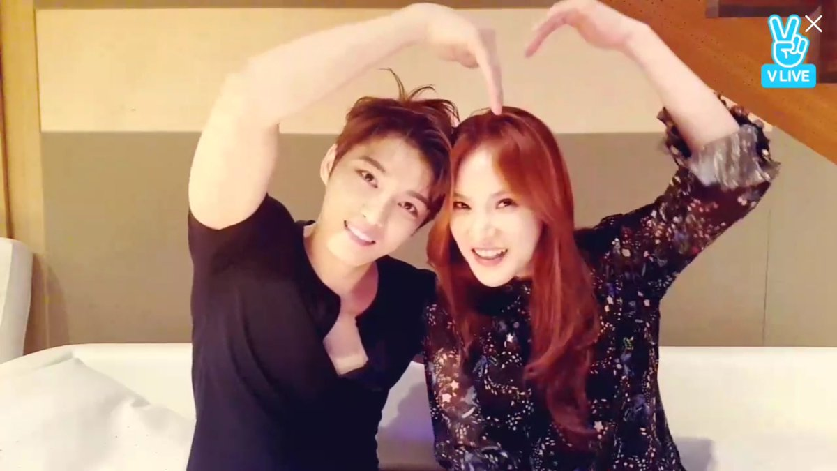 [VIDEO/SNS] 170525 V-Live: Kim Jaejoong with his special guest Gummy