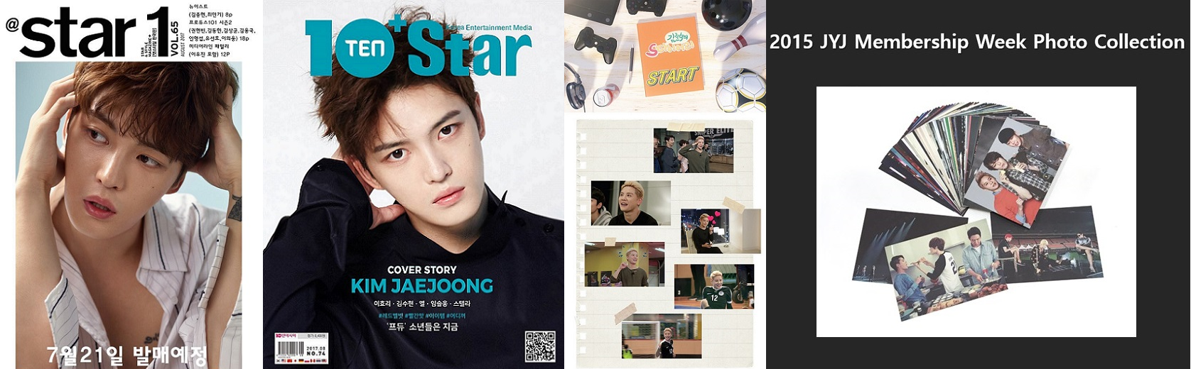 [INFO] 170724 List of Online Sites to buy Jaejoong's Magazines, Junsu's DVD, JYJ's Photo Collection