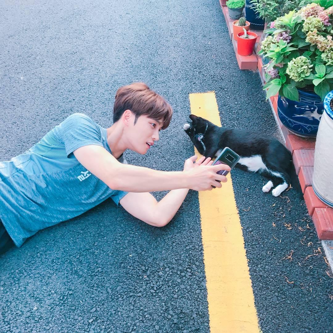 [INSTAGRAM] 170725 Kim Jaejoong Instagram Update: Endless love for cats