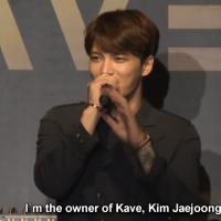 [ENG SUB] 170818 Kim Jaejoong at KAVE Japan's Grand Opening Event