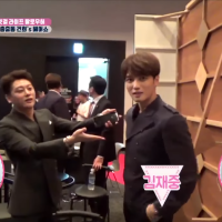 [VIDEO] 170914 Kim Jaejoong appeared in Gunhee's KAVE Hair Salon Opening Behind Scene