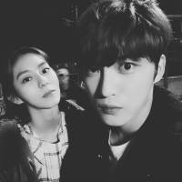 [INSTAGRAM] 170922 Kim Jaejoong IG Update: Photography + Filming #ManHole with UEE