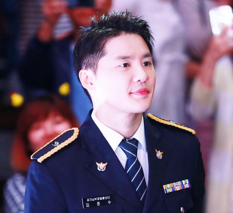 "[HQ FANCAMS] 170916 Gyeonggi South Police PR's Kim Junsu in ""2017 GwangGyo Lake Park Festival & Siheung Asian Traditional Festival"""