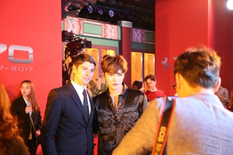 [PICS] 170918 Kim Jaejoong Attended Ferrari's 70th Anniversary Event in Seoul