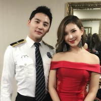 [OTHER INSTAGRAM] 171020 CJeS IG Update: Kim Junsu with Jung Sun Ah at 72nd Anniversary Police Day