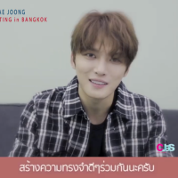 [VIDEO] 171021 Kim Jaejoong's Greetings Message to Thai Fans for Upcoming Fanmeeting in BKK