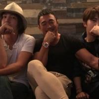 [OTHER TWITTER] 171121 Yoshihiro Akiyama shares a past photo with Kim Jaejoong & Jang Geun Suk