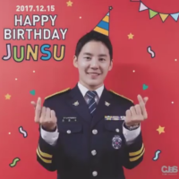 [VIDEO/SNS] 171215 CJeS IG & CJESJYJ Facebook Updates: Happy Birthday Kim Junsu!